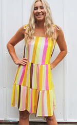 freshly squeezed babydoll dress [mustard] - Grace and Edge Boutique