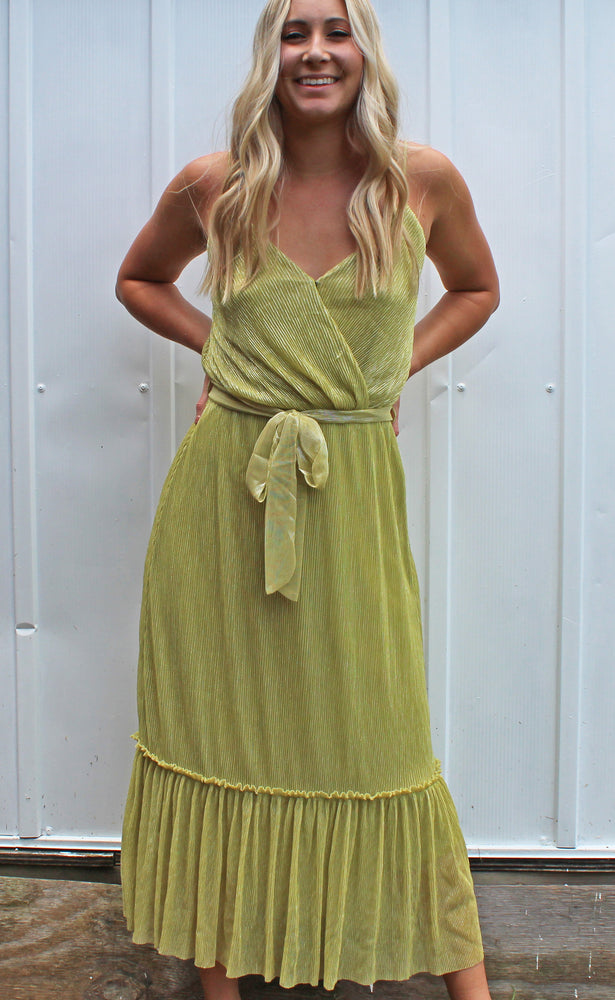 lemon lime lady maxi dress [lime]