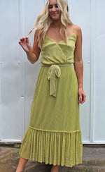 lemon lime lady maxi dress [lime] - Grace and Edge Boutique