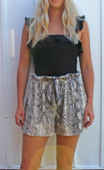 trending in seaside snake print shorts - Grace and Edge Boutique