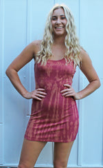 take me to the tropics bodycon dress [raspberry] - Grace and Edge Boutique
