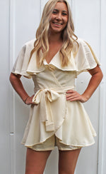 white sands cape romper [white]