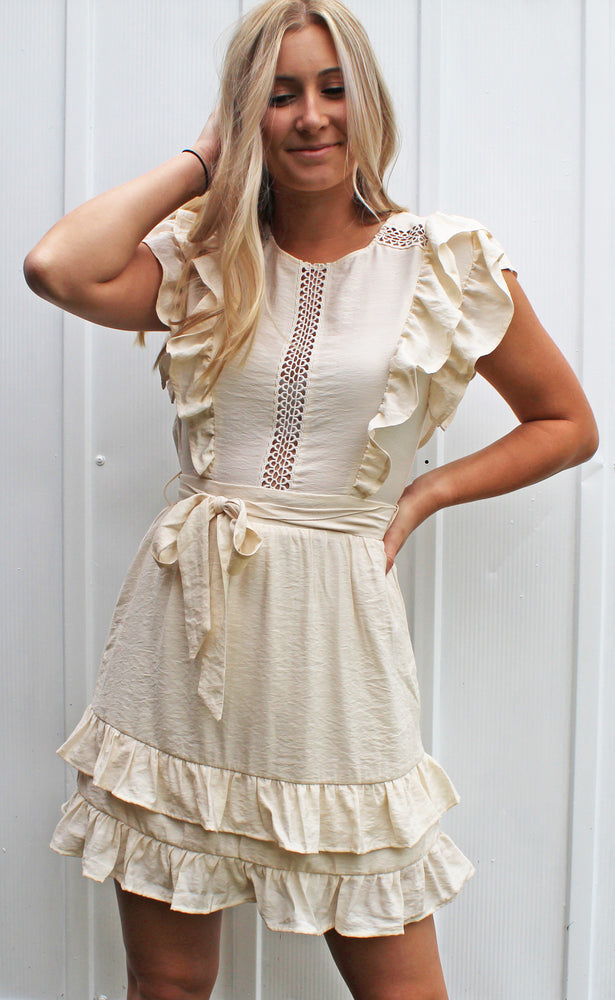 easy breezy dress [cream]