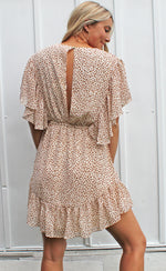 be mine babe dress [taupe] - Grace and Edge Boutique
