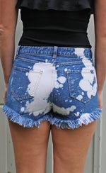acid wash shorts - Grace and Edge Boutique