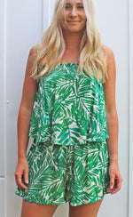 into the jungle top [green] - Grace and Edge Boutique