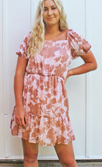 flirty & floral dress [pink] - Grace and Edge Boutique