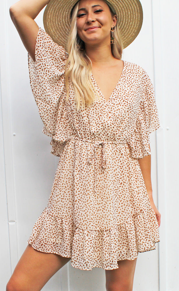 be mine babe dress [taupe]
