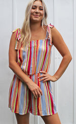 under the rainbow romper - Grace and Edge Boutique