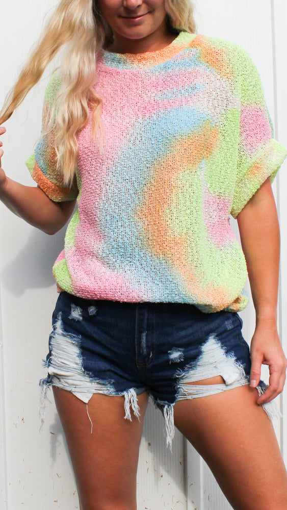 state of mind tie dye top - Grace and Edge Boutique