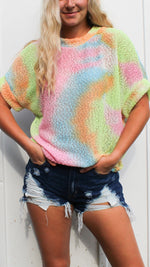 state of mind tie dye top