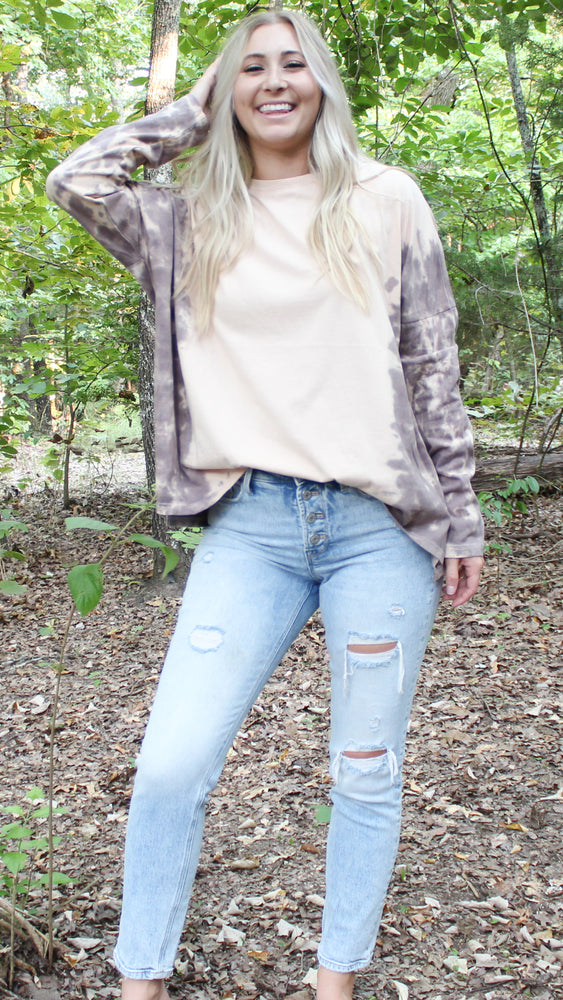 never alone top [faded plum] - Grace and Edge Boutique