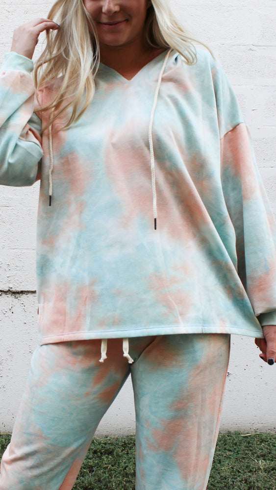 sweet comforts tie dye set - Grace and Edge Boutique