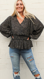 she's a keeper top [black] - Grace and Edge Boutique