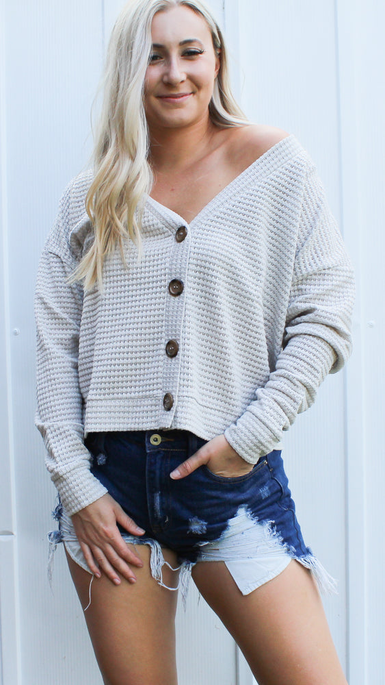 the best button down sweater [alpaca]