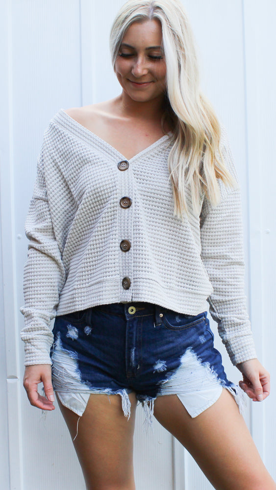 the best button down sweater [alpaca] - Grace and Edge Boutique