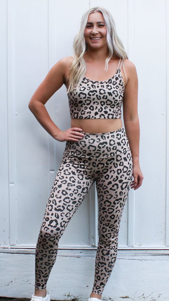leopard leggings - Grace and Edge Boutique