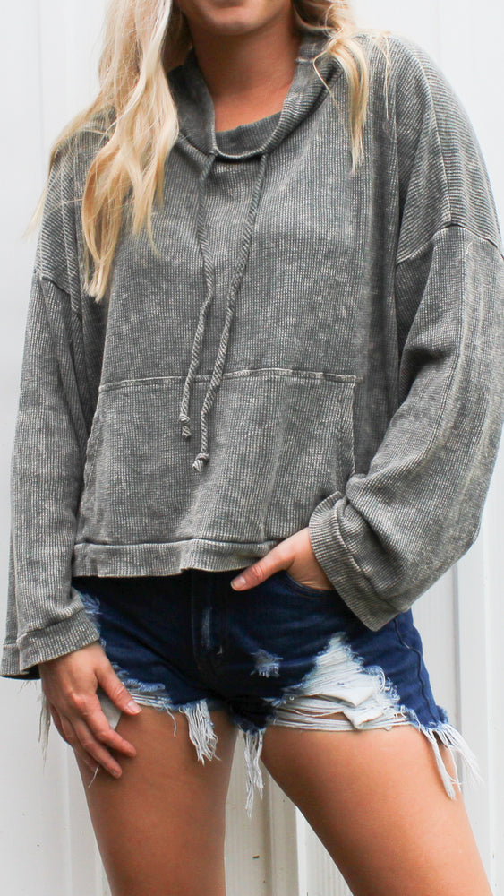 couch cuddling sweatshirt [green] - Grace and Edge Boutique