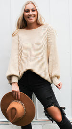 all time fav sweater [oatmeal]