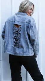 latest obsession denim jacket [light] - Grace and Edge Boutique