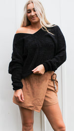 oh so soft sweater [black]