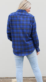 all about plaid [blue]