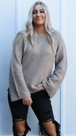 dear fall sweater [taupe]