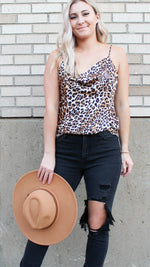 lovely times leopard tank - Grace and Edge Boutique