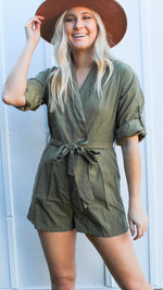 good to you romper [olive]