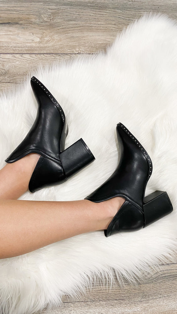 walk this way booties [black]