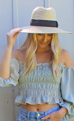 shade the sun floppy hat