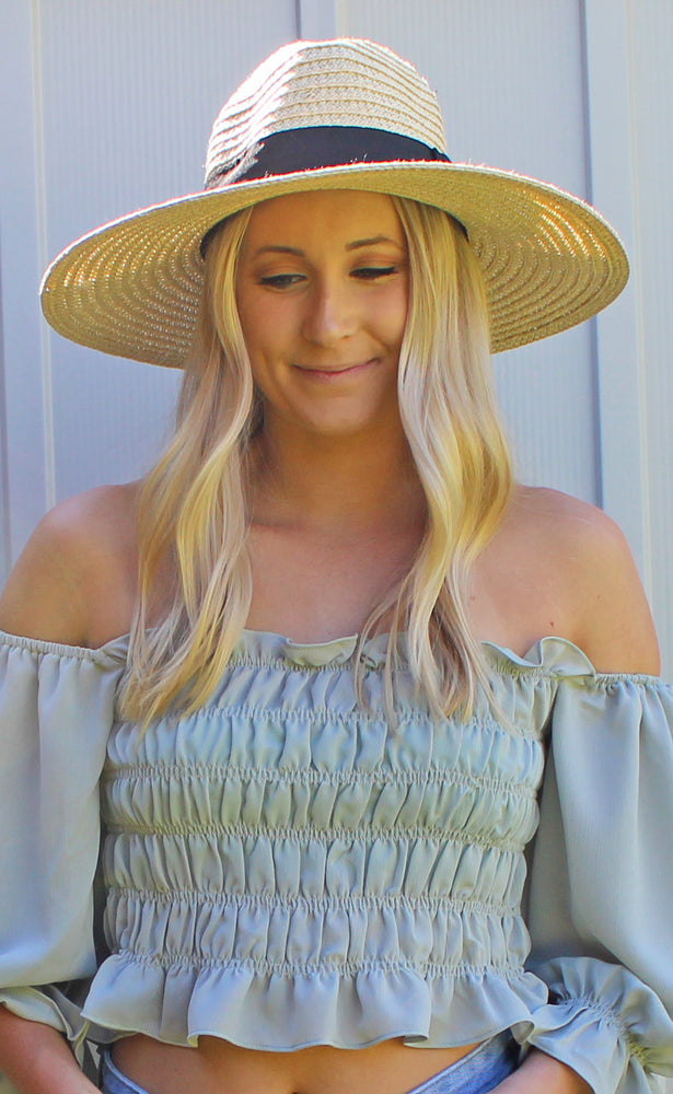 shade the sun floppy hat - Grace and Edge Boutique