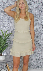 toast to tahiti dress [taupe] - Grace and Edge Boutique