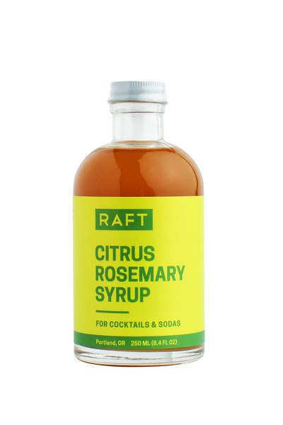 RAFT Citrus Rosemary Syrup - Improper Goods, LLC