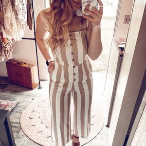Stripes In Order Jumpsuit