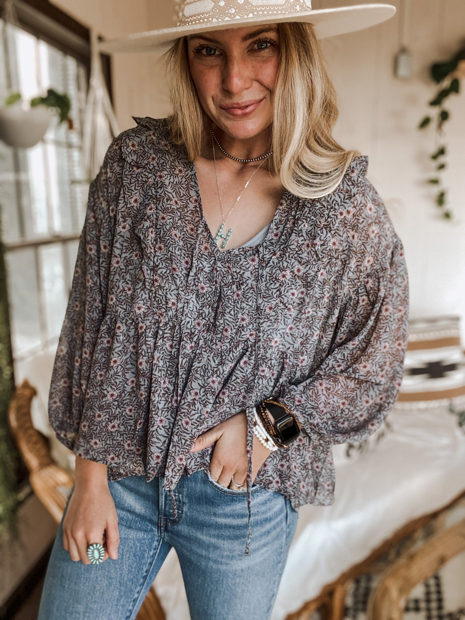Dusty Blouse