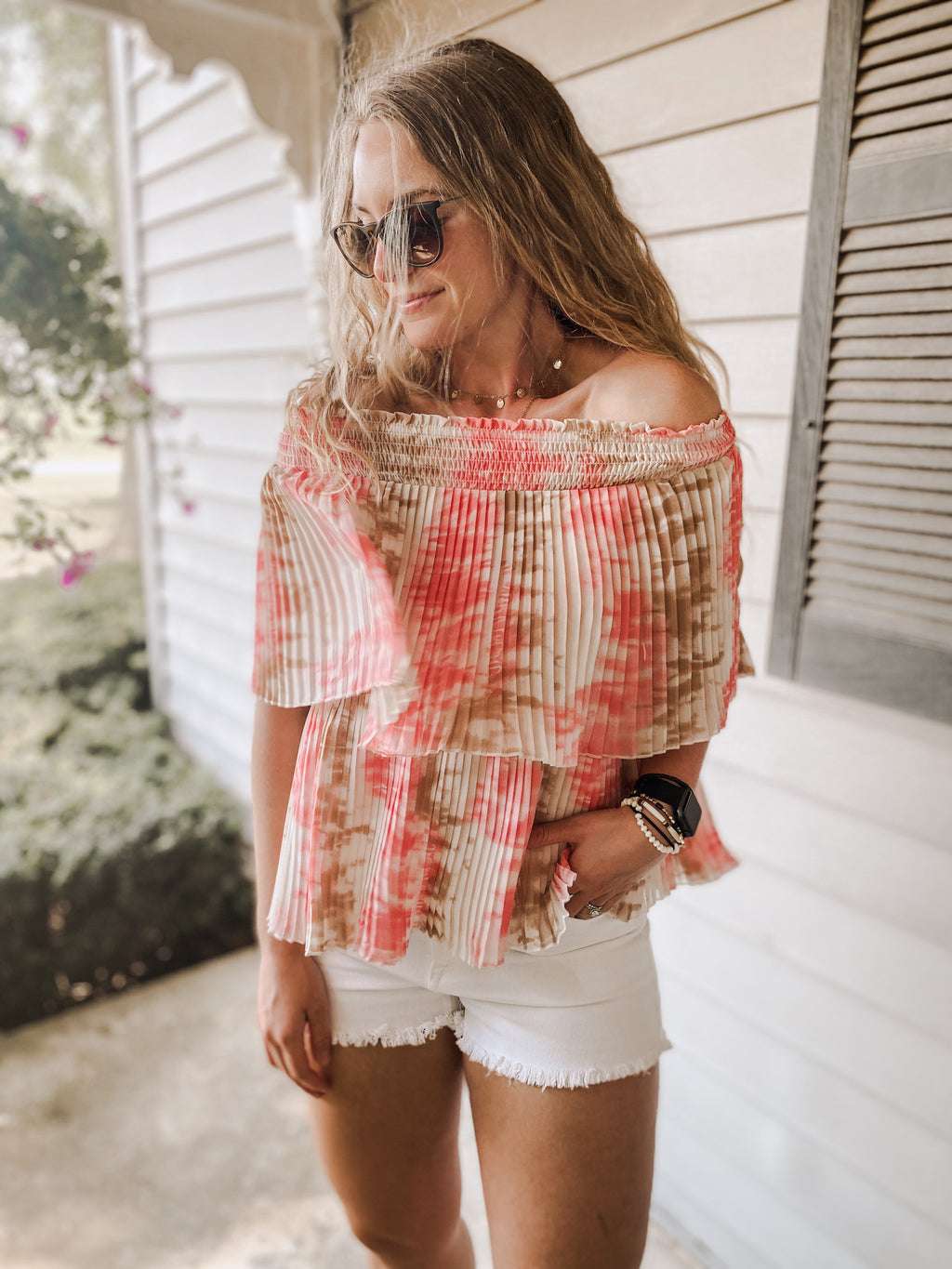 Cleo Off The Shoulder Top