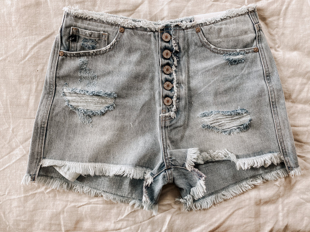Nevin Denim Shorts