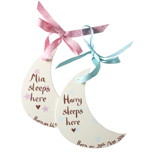 New Baby Moon Decorations