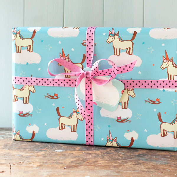 Unicorn Party Wrapping Paper