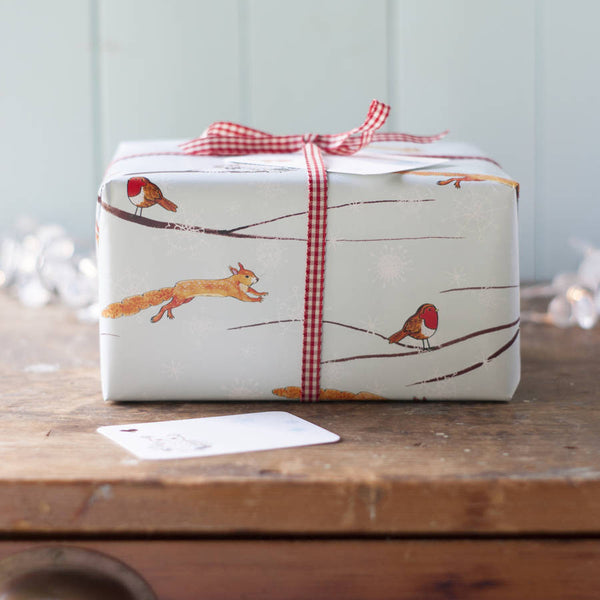 Winter Woodland Wrapping Paper Set