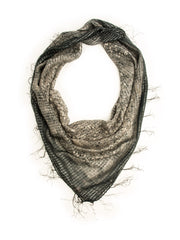 The Boho Bandanna in Black