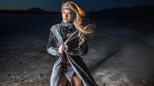 burning man festival fashion Moon tribe, Nightime Festival fashion