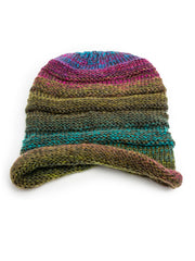 Hat - Aspen, Winter Knit Ombre Beanie -() Bohomonde  - 5