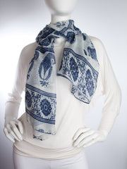 Scarves - Gaja Shawl, Paisley Indian Elephant Print Scarf, Shawl, Beach Wrap -() Bohomonde  - 16