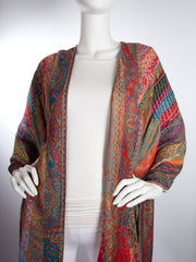 Scarves - Jivala Scarf, Woven Reversible Striped Pashmina Scarf, hand made in India -() Bohomonde  - 3