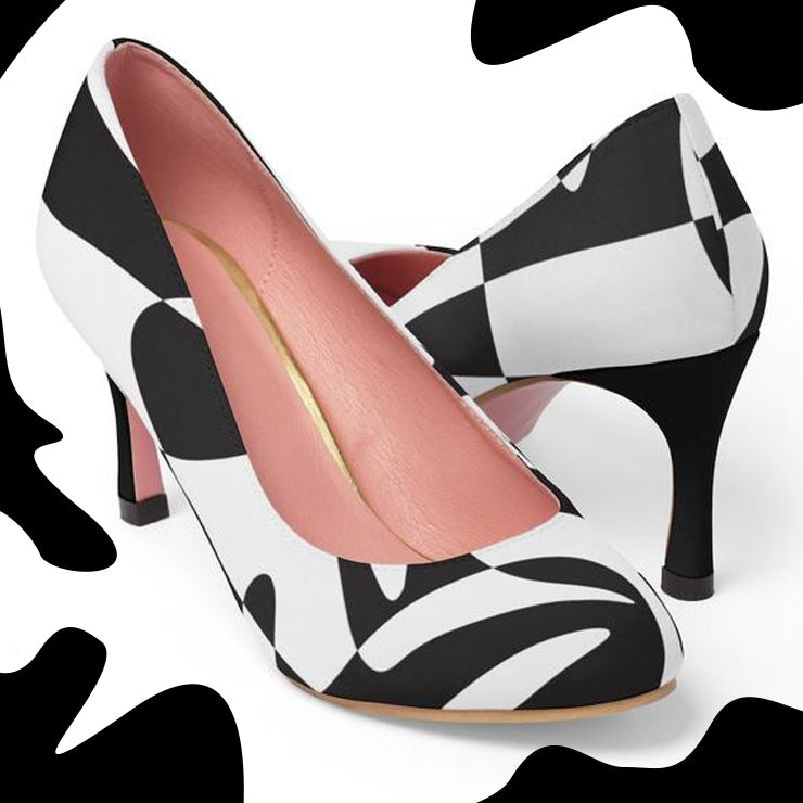 """Mad Cow"" High Heels"