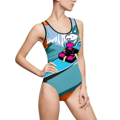 """Best Since Day 1"" Custom One-Piece Swimsuit - Awesome, custom designed T-shirts & Art  