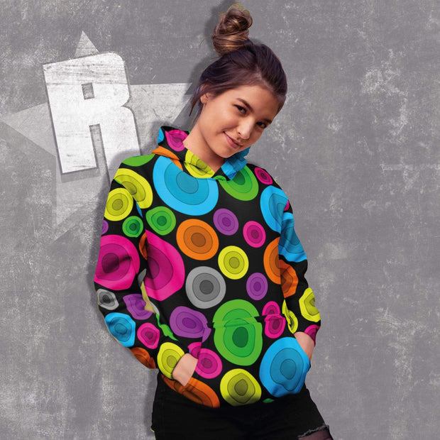 """Circles"" Unisex Hoodie - Awesome, custom designed T-shirts & Art  