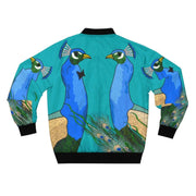 """Peacocks"" Bomber Jacket for Men - Awesome, custom designed T-shirts & Art  